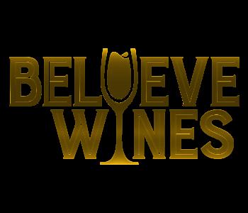BelieveWineLogoGold